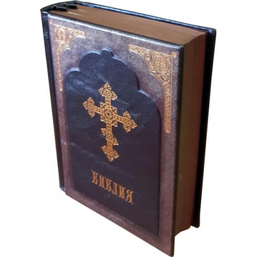 """Подарочная книга """"Библия в авторском переплёте"""""""
