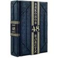 Роберт Грин.  «48 законов власти, 33 стратегии войны» в 2 томах, в составном переплете из натуральной кожи6