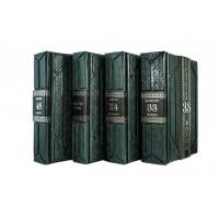 Издание «Искусство власти» в 4 томах в кожаном переплете в подарочном мешочке