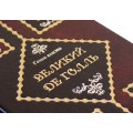«Великий Де Голль» в кожаном переплете с рельефным тиснением в подарочном мешочке4