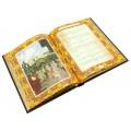 «Власть над людьми и люди у власти» кожаный переплет с художественными накладками из ювелирной латуни2