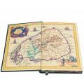 """Подарочная книга  """"23000 миль на яхте Тамара"""" в кожаном переплете с тиснением золотой фольгой3"""