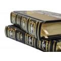 <font size=4>Подарочная книга</font> Александр Блок, Сергей Есенин в 2 томах, в переплете ручной работы4