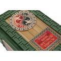 Большая книга восточной мудрости (Dark Green) с подставкой  3