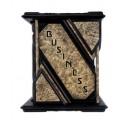 «Business: the ultimate resource/Бизнес, полная энциклопедия» в кожаном переплете с золотым тиснением и художественным футляром7