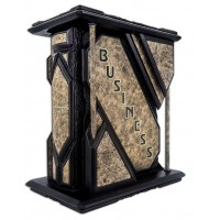 «Business: the ultimate resource/Бизнес, полная энциклопедия» в кожаном переплете с золотым тиснением и художественным футляром