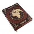 """Подарочная книга """"Флаги мира"""" из натуральных кож с обрезом позолоченным сусальным золотом3"""