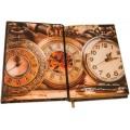 «История часов с древнейших времен до наших дней» в кожаномпереплете в подарочном футляре – подставке 2