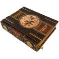 «История часов с древнейших времен до наших дней» в кожаномпереплете в подарочном футляре – подставке 5