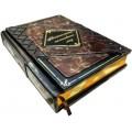 Издание «Изменившие мир» в 3 томах в кожаном переплете с рельефным тиснением в подарочном футляре и мешочке