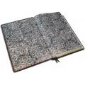 Книга «Библия» в кожаном переплете с иконами святых ручной работы в подарочном мешочке3
