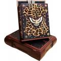 Блюхель К. Г. .  Книга «Охота» в кожаном переплете из шкуры пони в подарочном коробе5