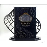 """Книга почетных гостей изготовлена для бизнес-зала """"Рублев"""""""
