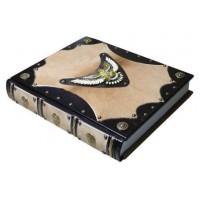 «Охота» в кожаном переплете с художественным литьем «Орел» в подарочном коробе