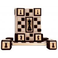 «Шахматы, 2000 лет истории» в составном французском переплете ручной работы