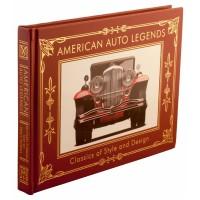 «Американские авто легенды» в кожаном переплете на английском
