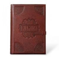 «Библия большая» тонированный обрез