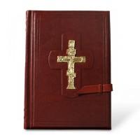 «Библия» кожаный хлястик