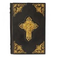 «Библия» с филигранью ручной работы покрытая золотом