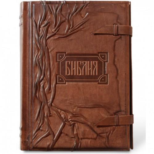 «Библия с клапаном» тонированный обрез