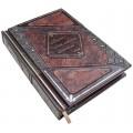 Подарочная книга «Бизнес-идеи, которые изменили мир» в кожаном переплете с многоуровневым тиснением1