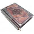 Подарочная книга «Бизнес-идеи, которые изменили мир» в кожаном переплете с многоуровневым тиснением3