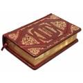 Книга «Декамерон» в переплете ручной работы с комбинацией рельефного и золотого тиснения3