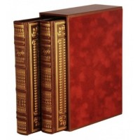 Двухтомник в коробе «Сказки Братьев Гримм» в книжном футляре