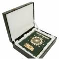 """Подарочная книга """"Энергия будущего"""" в кожаном переплете с художественным литьем в подарочном коробе1"""