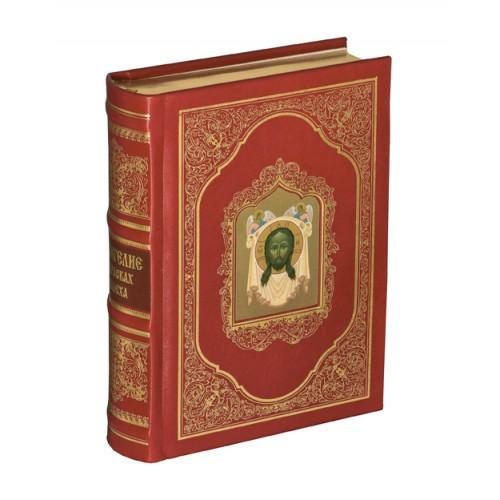 """Подарочная книга """"Евангелие в красках Палеха"""""""