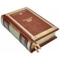 Достоевский Ф.М. .  «Идиот» в переплете ручной работы с глубоким блинтовым тиснением 2