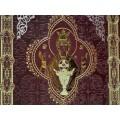 «Иллюстрированная Библия» в кожаном переплете с тиснением 1