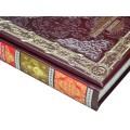 Подарочная книга «Иллюстрированная Библия» в кожаном переплете с тиснением 4