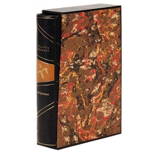 «Киплинг: избранное» в переплете ручной работы из натуральной кожи в подарочном футляре