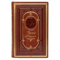 Р.Киплинг «Книги джунглей, Рассказы, Стихотворения» в кожаном переплете с тисненым портретом автора