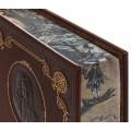 """Книга """"Путешествия Гулливера и другие произведения"""" в одном томе в кожаном переплете с рисованным обрезом 2"""