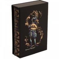 Книга сонетов У. Шекспира в кожаном переплете в футляре