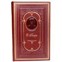 «Короли и капуста, Благородный жулик, Голос большого города, Рассказы» в кожаном переплете с тисненым портретом автора