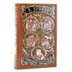 Крылов И. «Собрание сочинений» в 2 томах в кожаном переплете с рисованным обрезом