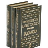 Издание Толкина «Книга потерянных сказаний» в 3 томах на английском языке