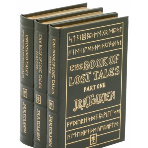 Подарочная книга Издание Толкина «Книга потерянных сказаний» в 3 томах на английском языке
