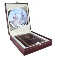 Подарочный набор с майоликой «Москва»