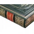 Набор «Охота», с бокалами для коньяка и книгой с расписным обрезом и бронзовым барельефом6