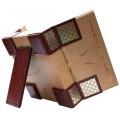 «Семейный фотоальбом» в кожаном переплете в подарочном футляре-пюпитре3