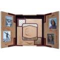 «Семейный фотоальбом» в кожаном переплете в подарочном футляре-пюпитре5