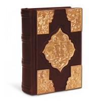 «Святое Евангелие» с художественным литьем покрытое золотом