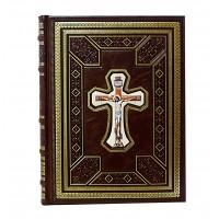 Святое Евангелие на церковнославянском со вставкой финифть