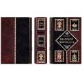Книга «Великий Черчилль» в кожаном переплете с рельефным тиснением в подарочном мешочке3