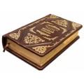 Книга «Великий Гэтсби» в кожаном переплете с комбинацией рельефного блинтового и золотого тиснения 2