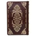 Книга «Великий Гэтсби» в кожаном переплете с комбинацией рельефного блинтового и золотого тиснения 4